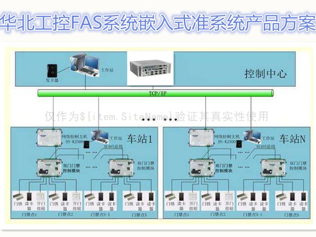 """华北工控""""冰翅""""结构工控机助力轨道交通FAS系统"""