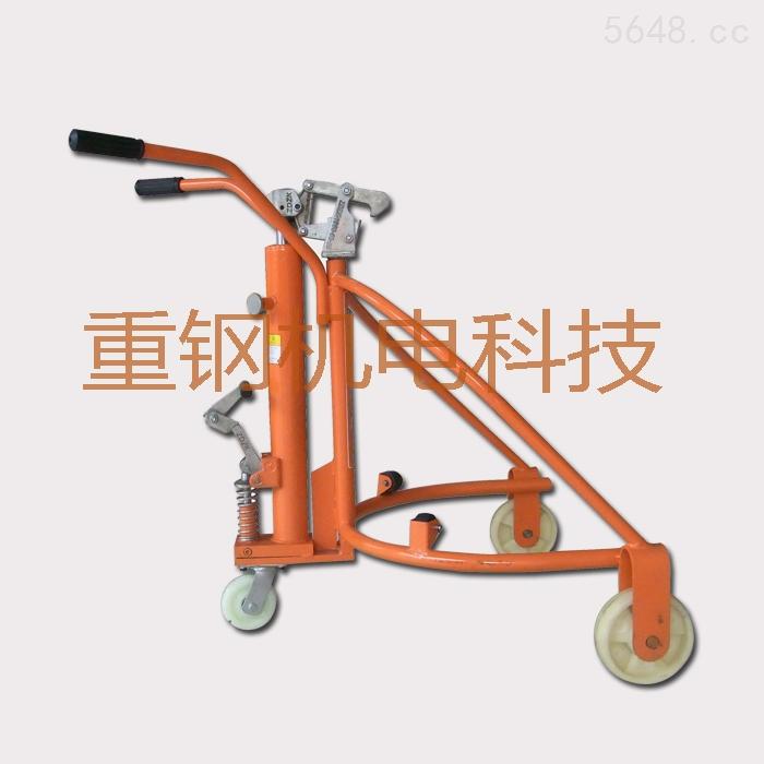 广东油桶搬运车,手推式简易搬运车,油桶油桶搬运车柴油发动机催化器图片