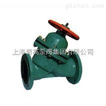 上海奇高G45J直流式衬胶隔膜阀厂家供应