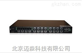 迈森三层工业以太网交换机MS6028MC-G