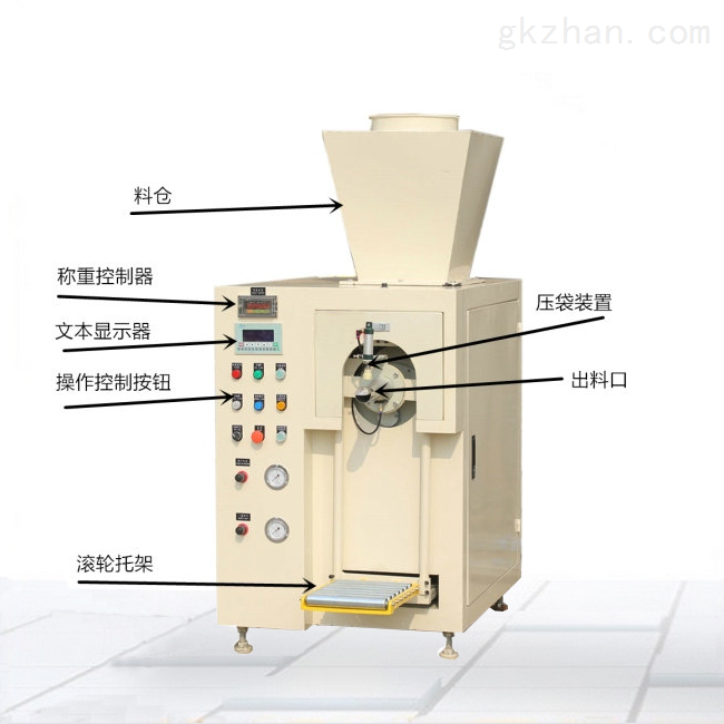 气压式阀口粉末包装机