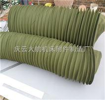 圆形纯棉帆布软连接材质