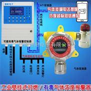 冷库机房液氨气体报警器,可燃气体探测仪报警值设定为多少合适?