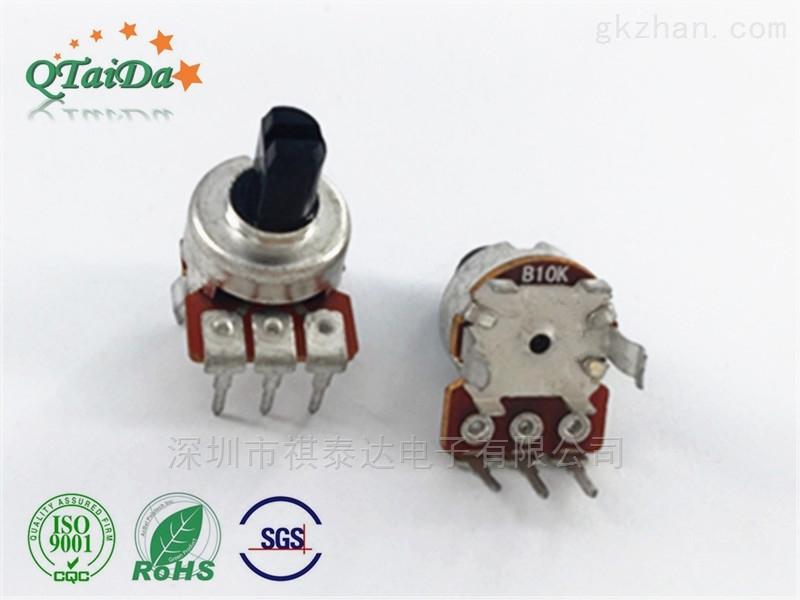 深圳厂家R1216N单联电位器调音电阻器
