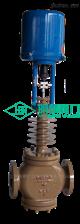 ZDLM电子式电动高温调节阀 含散热片阀门