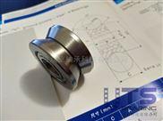 LV202-41ZZ导轨滚轮轴承-V41用于重型导轨设备轴承
