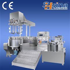 SH-SME食用辣椒酱内外循环真空均质乳化机