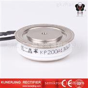 昆二晶平板式双向晶闸管模块KS300A凹型
