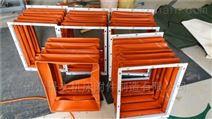 造纸机械设备高温风道伸缩软连接定做