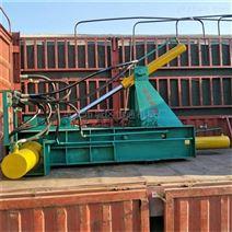 废钢材铝板压块机自动化程度高 省时省人工