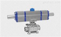 三段式铝合金材质气动执行器 调节型电动头