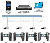 人脸识别通行访客考勤系统服务器摄像机联网