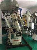 二手工业机器人日本川崎搬运码垛机械臂