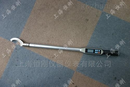 0-3000N.m锁紧圆螺母专用弯头数显扭矩扳手