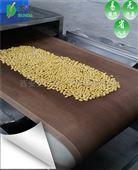 黄豆微波烘培设备隧道式大豆熟化机
