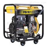 伊藤5kw原装进口动力便携开架式柴油发电机
