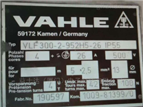 VAHLE KDS2/40PE进口相线碳刷