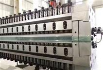金纬机械PC、PP、PE中空格子板生产线