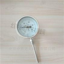 中西不锈钢防护型双金属温度计