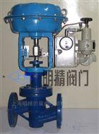 QZJHPF46型气动衬氟单座调节阀