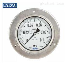 WIKA全不锈钢波登管压力表 232.50.100 轴向前带边 M20X1.5