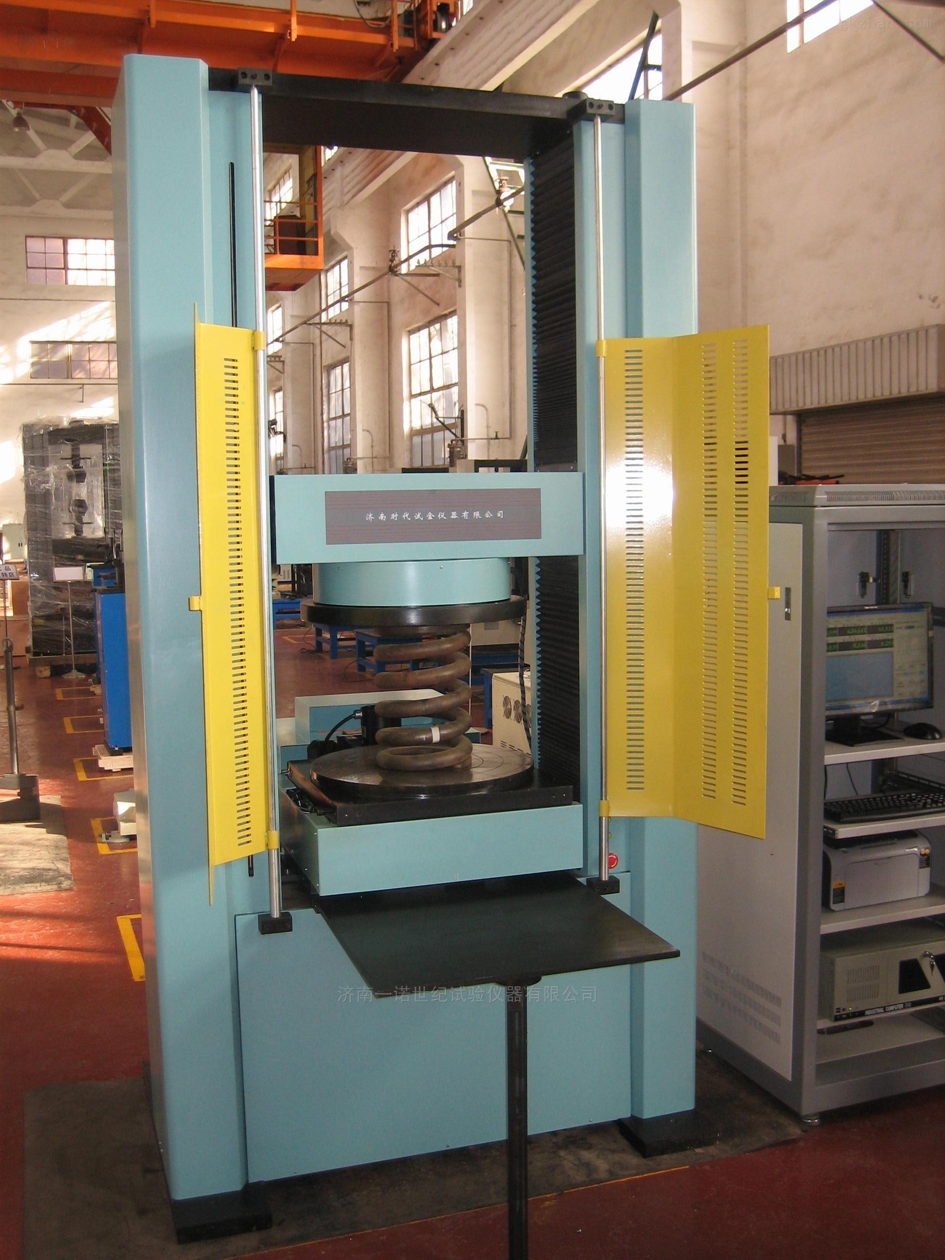汽车悬架弹簧六分力试验机研发基地