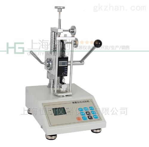 10N弹簧拉压力测试仪,测试弹簧压缩拉伸