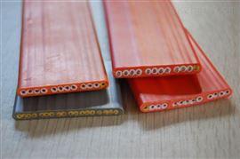 耐高温硅橡胶拖令扁电缆