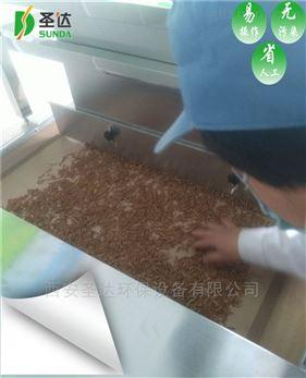 黄粉虫用微波干燥设备熟化效果好吗