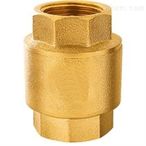黄铜立式止回阀