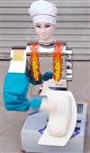 新款高速版廚師型刀削面機器人