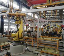 小型锅炉炉体自动化焊接生产线