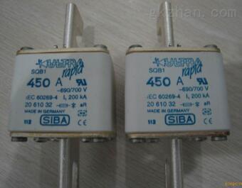 SIBA熔断器NH0 10A gG 690V