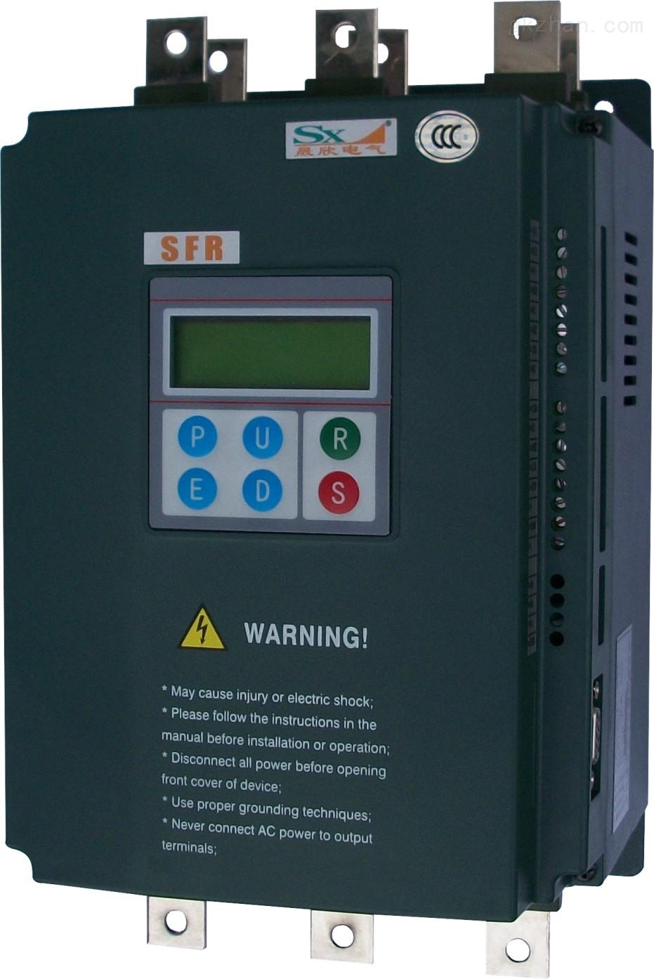 三相混合软启动器(3相位6导线电动机的限电流启动)