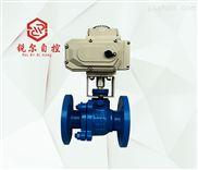 Q94F46电动法兰衬氟球阀,上海锐尔阀门厂