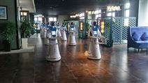 供应山西长治当地餐厅机器人服务员价格