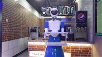 供应广州胜和女神餐厅餐饮送餐机器人