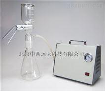 压力隔膜泵+过滤装置 中西器材