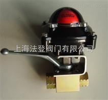 手动高压带限位开关球阀法登阀门生产供应