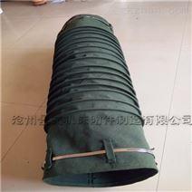 鋼絲骨架耐磨粉塵帆布輸送軟連接廠家