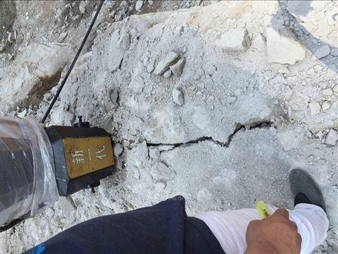 地基开挖底层岩石分裂器黑龙江新闻资讯