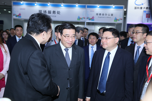 苗圩出席第六届中国电子信息博览会
