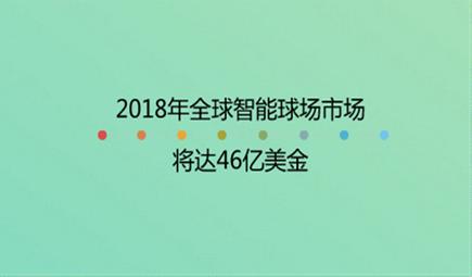 2018年全球智能球場市場將達46億美金