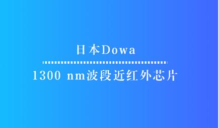 日本Dowa開發出1300 nm波段近紅外芯片