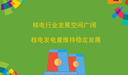 核电行业发展空间广阔 核电发电量维持稳定发展
