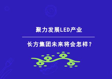 聚力发展LED产业 长方集团未来将会怎样?