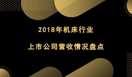 2018年机床行业上市公司营收情况盘点