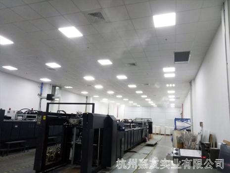 杭州嘉友印刷车间加湿案例