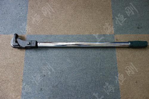 预置式扭力扳手手动工具图片(可配管钳头)