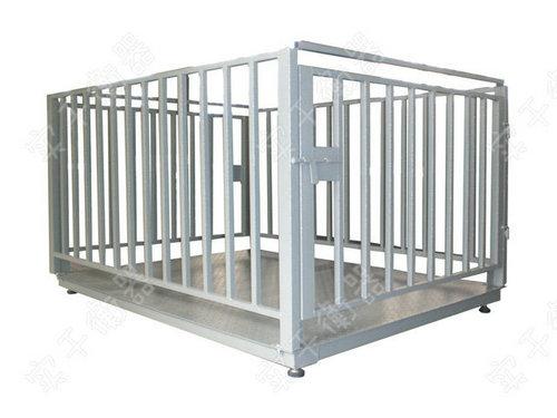 带围栏动物电子秤